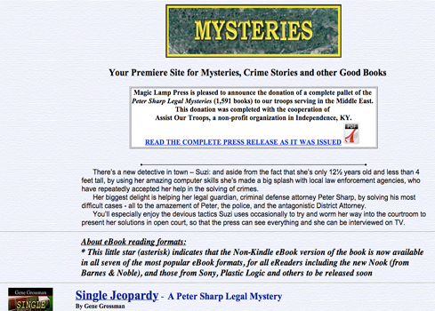 Legal Mystery Website